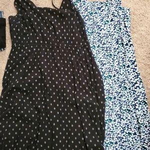 Gap Spahgetti Strap Dresses